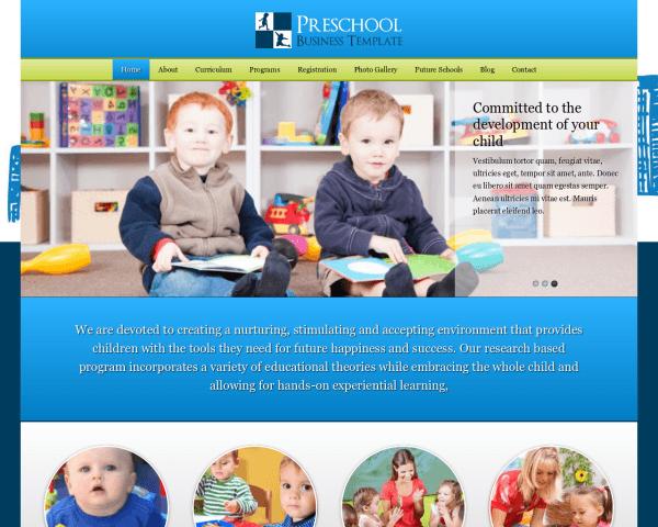 Kinderdagverblijf WordPress Thema