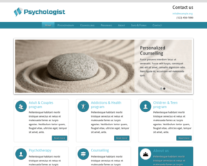 Psychologie WordPress Thema