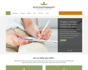 Psychoterapie WordPress Thema