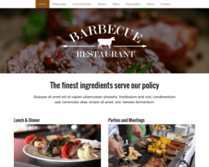 Barbecue WordPress Thema