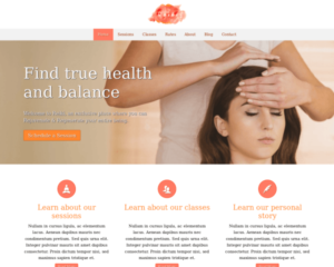 Reiki WordPress Thema