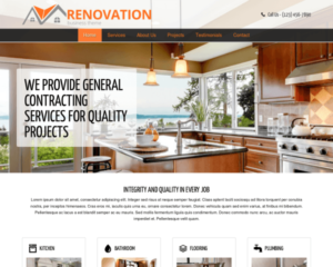 Renovatie WordPress Thema