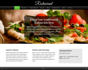 Restaurant WordPress Thema