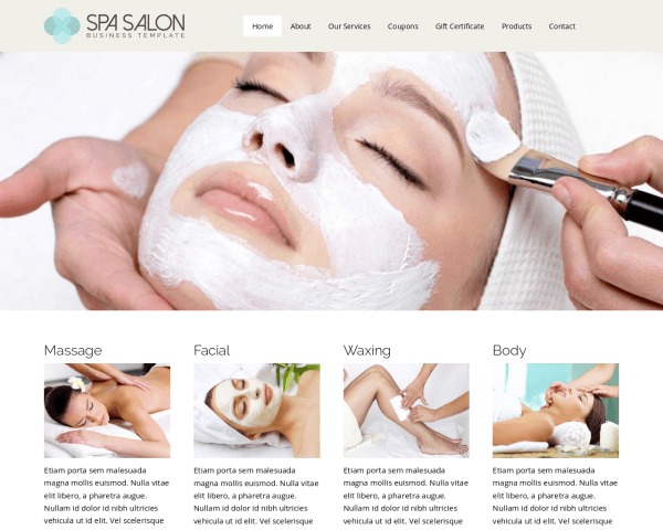Spa WordPress Thema