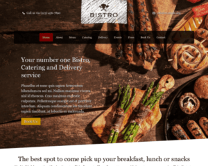 Bistro WordPress Thema