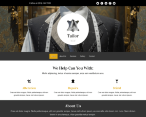 Kleermaker WordPress Thema