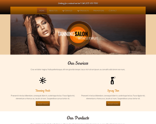 Zonnestudio WordPress Thema