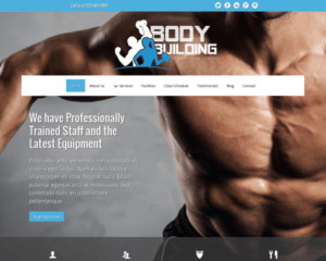 Bodybuilding WordPress Thema