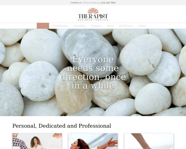 Therapeut WordPress Thema