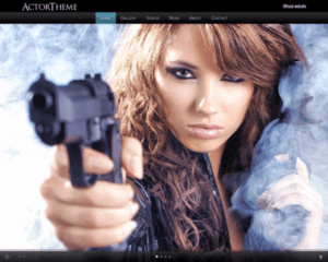Acteur wordpress thema
