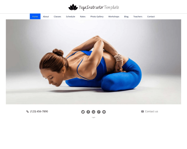 Yoga les WordPress Thema
