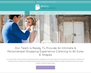 Huwelijk WordPress Thema