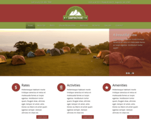 Camping WordPress Thema