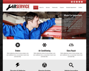 Autoreparatie WordPress Thema